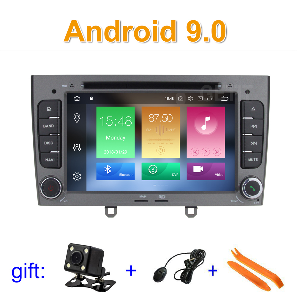 Android 9 Car DVD Player Multimedia Stereo for peugeot 408 308 308SW with Radio WiFi GPS