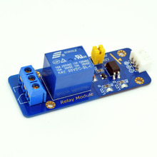 Adeept New 5V 1 Channel Relay Module  for Arduino Raspberry Pi ARM AVR DSP PIC Freeshipping headphones diy diykit