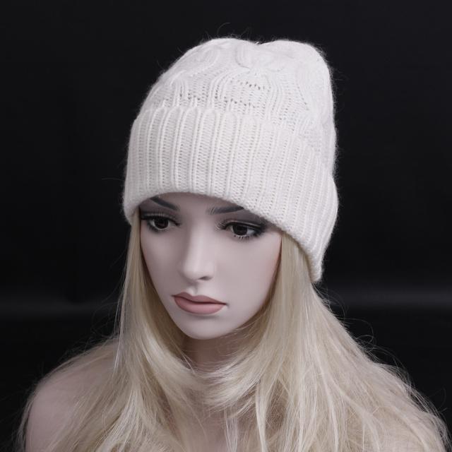 Oferta especial!!! Clásico de invierno lana sombrero de La Manera Mujeres de Los Hombres de color Sólido Grueso Beanie caps casual gorra de esquí de Invierno Regalo