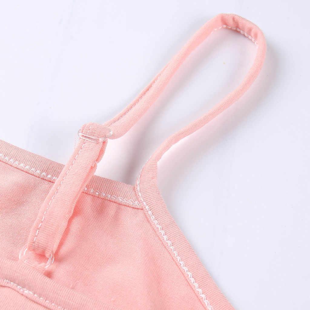Cotton Summer Tops Women Sexy Sleeveless Underwear Women Casual Black Sexy Crop Top Summer 2019 Women chemise femme