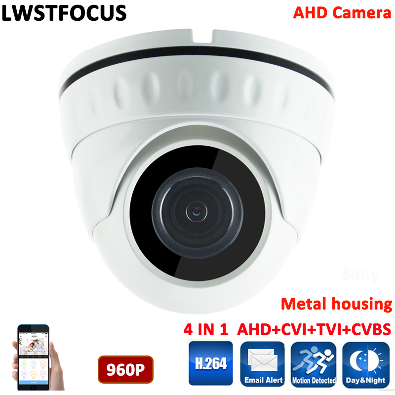 Indoor Dome Security Camera CCTV 1/3'' S3130 960P 1.3MP AHD Camera IR Cut Filter 20M IR Range 1080P Lens AHDM Camera cctv кольца sokolov 3010383 s