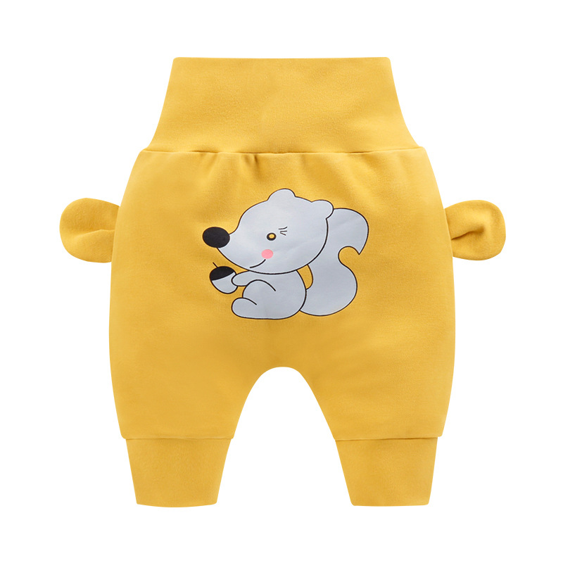 Spring Autumn Pure Cotton Children Trouser Baby Girl Leggings Baby Boy Pants Comfortable Newborn Pants(China)