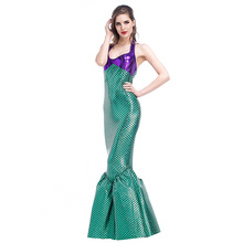 Sexy Mermaid Costume Women Cosplay Halloween Costume For Adult Carnival Party Fancy Dress halloween costume sexy cat women fancy dress adult kid black cat party cosplay jumpsuit cuddly animal costume family clothing