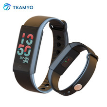 Teamyo Sport Smart Band Dynamic Heart Rate Fitness Tracker Smart Bracelet with Color Screen Pedometer fitness watch for Phone