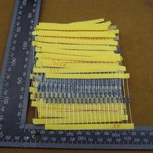 +Total 600pcs 1% 1/4W Metal Film Resistor Assorted Kit 30 Values (10 Ohm ~1M Ohm) ,20pcs Each value #30145