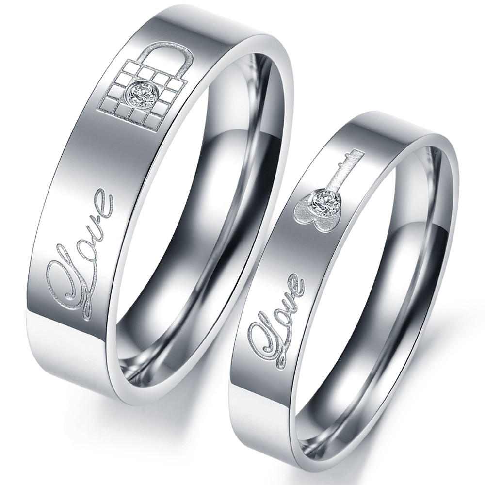 Online Buy Wholesale couple rings engraved from China couple rings ...