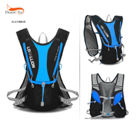 9 Color Vest Style 5L Outdoor Sports Cycling Racing Marathon Water Bag Backpack Hydration Pack Hiking