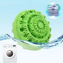 Экологически чистый зеленый шарик для стирки многоразовый Анион молекул моющее средство для мытья личной гигиены