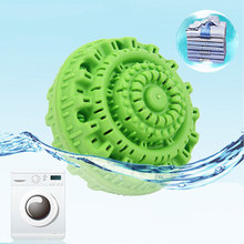 Eco-Friendly Green Laundry Ball Reusable Anion Molecules Cle
