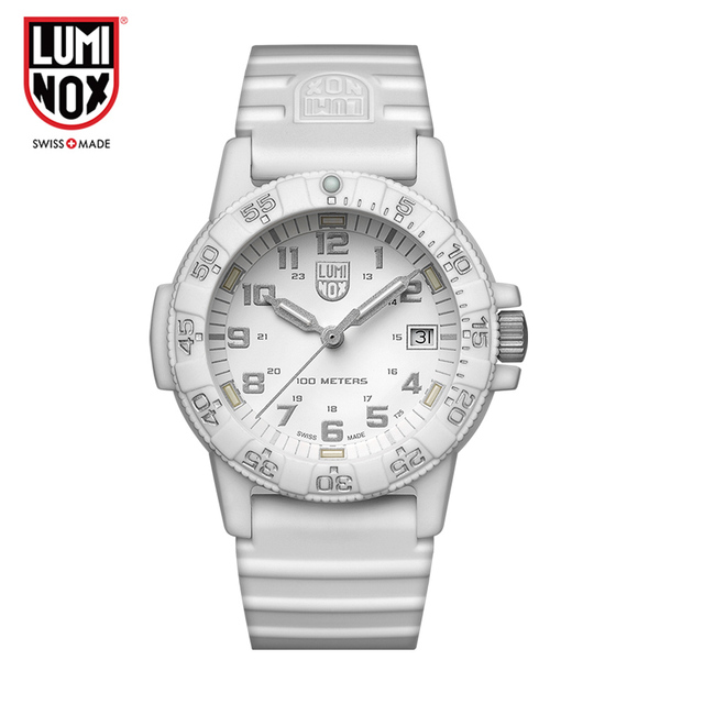 Luminox watch men Military Men Watch Leather Sport Quartz Clock Mens Watches top brand luxury Waterproof Relogio Masculino