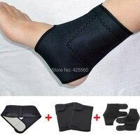 Turmalina auto calefacción terapia magnética cintura y apoyo rodillera y turmalina tobillo Correa rodilla masaje envío gratis
