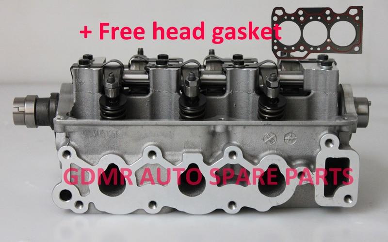Complete F8CV cylinder head assembly assy 96316210 96642705 96642707 96642708 M96642708 for Daewoo Matiz Petrol 0