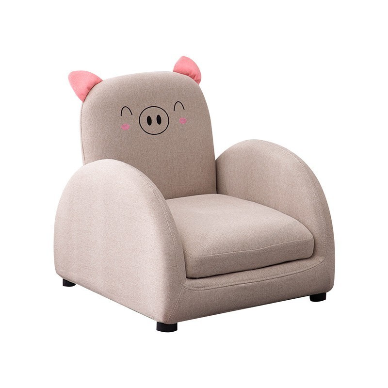 Cartoon Reclining Corner Design Child Sofa Furniture Living Furniture Small Folding Chairs Single Sofa Bed Removable Cleaning