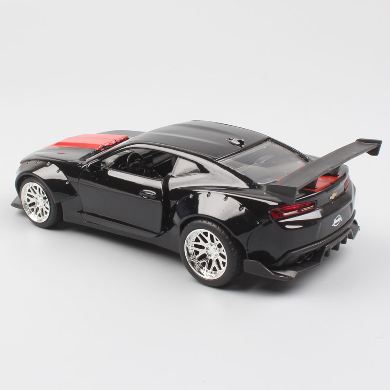 1 32 Scale small Jada bigtime 2016 Chevrolet Chevy Camaro SS coupe diecast model muscle sport car toy for miniature kid children in Diecasts Toy Vehicles from Toys Hobbies