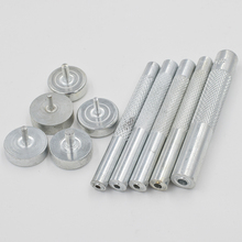 2017 new button tool. Eyelets tools. Metal holes. Mold. rivet. nail. Clothing & Accessories.Sewing patches. Tent buttonhole.corn