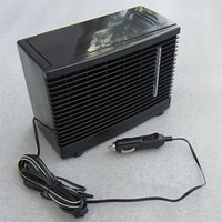 New Mini Car Air Conditioner Refrigerator Car Cooling Fan Refrigerator 12V