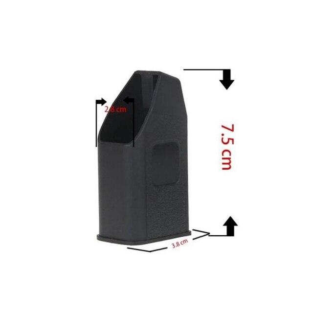 سلاح من البلاستيك وملحقاته متوافق مع Glock عيار مجلة 9 مللي متر (9x19/40/357/380 Auto & 45 الفجوة ملحقات الصيد W3