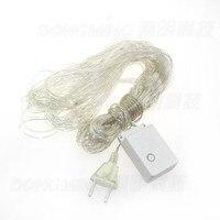 Free Fedex 5pcs Lot 3M X2M 192leds LED Net Light Bulbs Outdoor Decoration LED Christmas Net