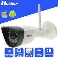 Камеры безопасности с 1.3 Мегапиксельная CMOS 2.8 мм Объектив HD Разрешение Onvif открытый ИК день ночного видения Видеонаблюдения система