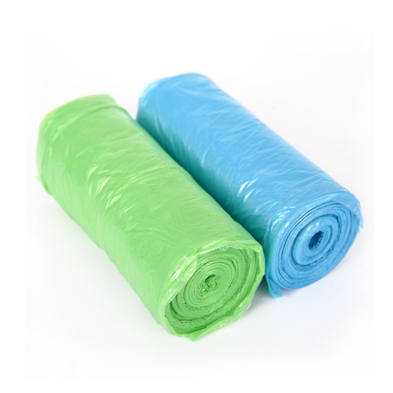 Promotion Dogs Carrier Biodegradable Garbage Bags Pet Waste Rubbish Bag Green Blue Color Kitchen Clean In Bins From Home Garden