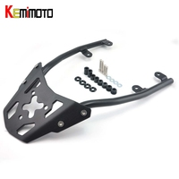 KEMiMOTO For Kawasaki Z650 2017 Motorcycle Accessories Rear Carrier Luggage Rack Z 650 Rear Carrier