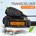 Tyt th-9800 4-band fm th-9800 transceptor dual recibir y full duplex de radio móvil de radio walkie talkie de radio de coche