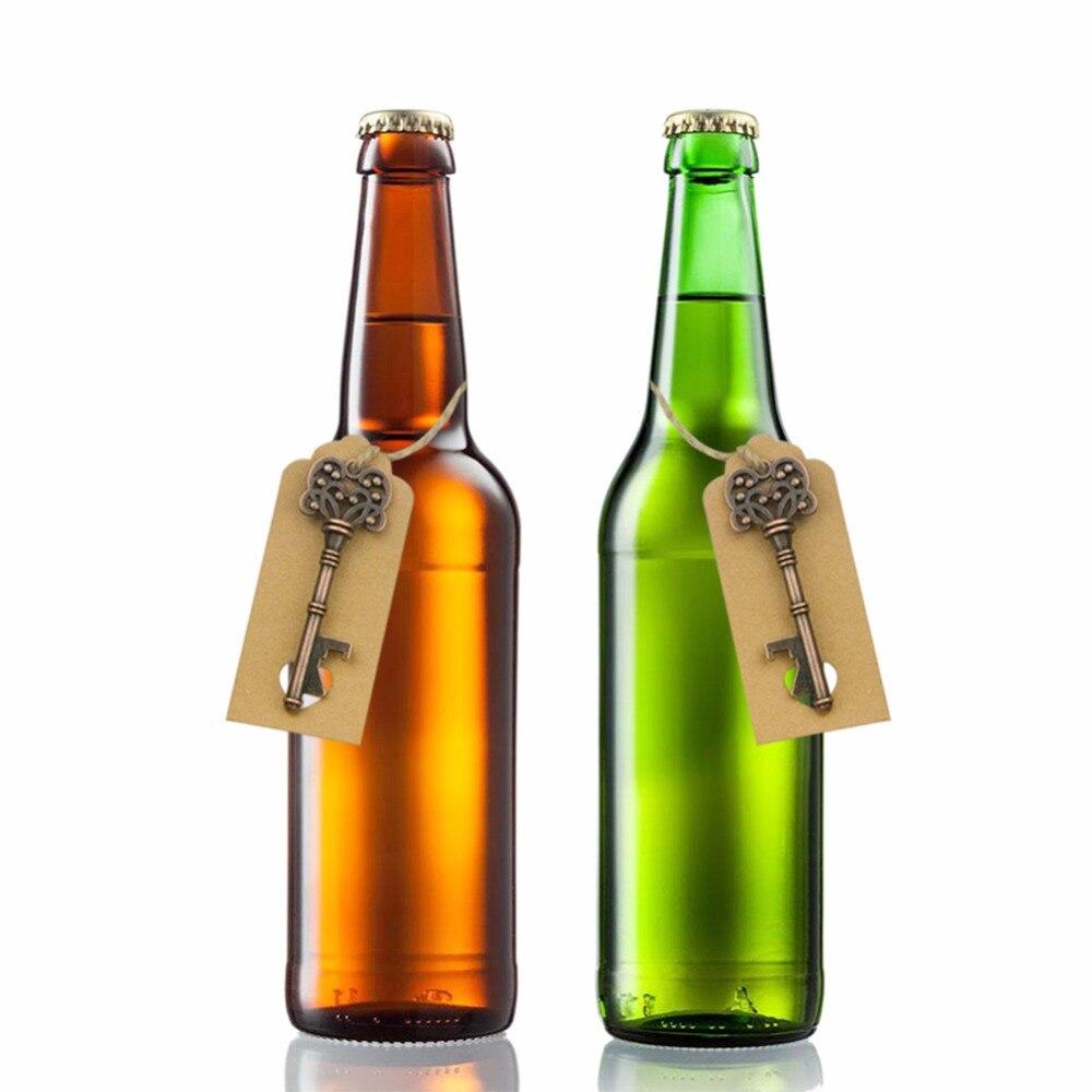50setlot Vintage Key Shaped Beer Bottle Opener Wedding Favor