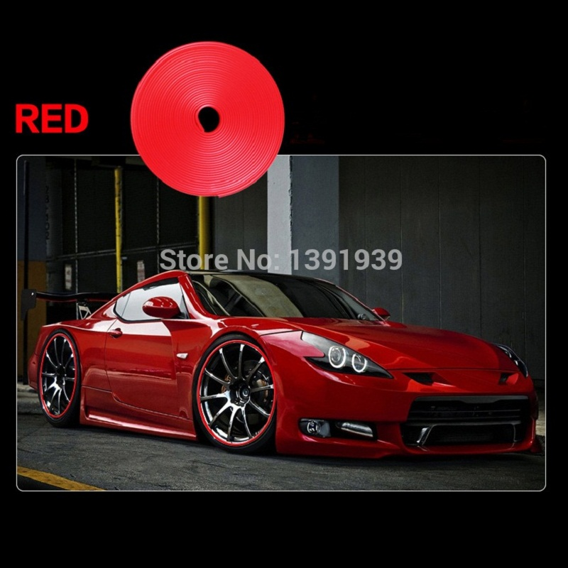 Us 1162 22 Off8 Meter Auto Lichtmetalen Velg Bumper Strip Wiel Protector Voor Alfa Romeo Giulietta Mito 159 147 Gt Q2 166 156 145 146 155 In