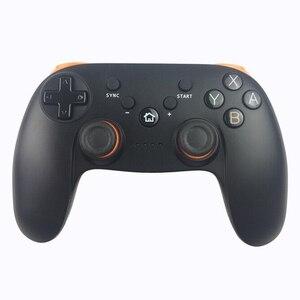 Image 1 - Manette de jeu double classique de haute qualité manette Pro sans fil Bluetooth manette joy pad pour Wii U