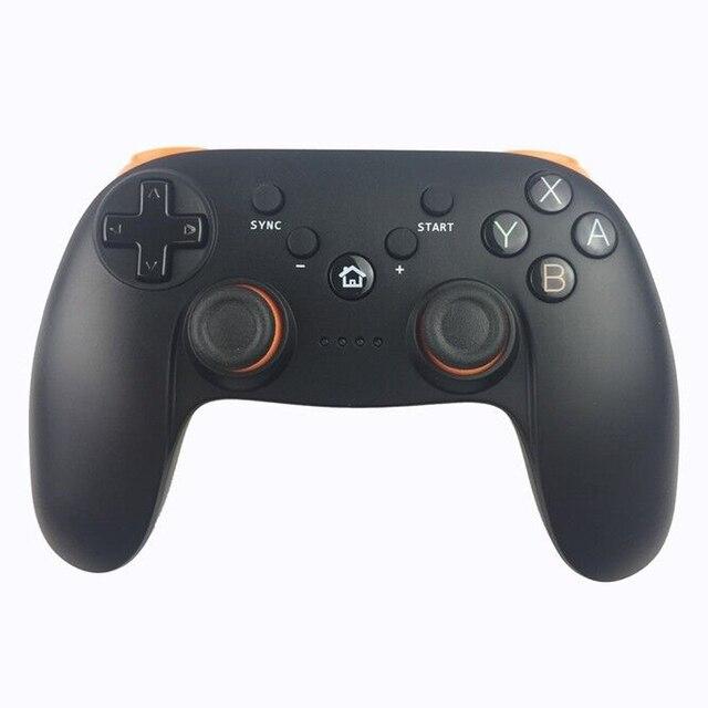 Manette de jeu double classique de haute qualité manette Pro sans fil Bluetooth manette joy pad pour Wii U
