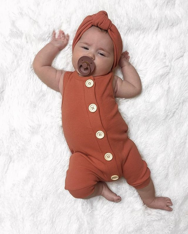 HTB1UKgROYvpK1RjSZFqq6AXUVXa2 2019 Summer Solid Rompers Newborn Infant Baby Girl Boy Outfit Cotton Romper Jumpsuit Bebe Kids Ropa Sleevless Casual Clothes Set