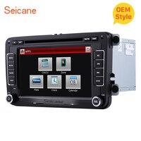 Seicane двухместный автомобиль радио CD, DVD мультимедийный плеер GPS Navi для Seat Toledo VW POLO PASSAT транспортер Sharan Skoda Rapid /Fabia