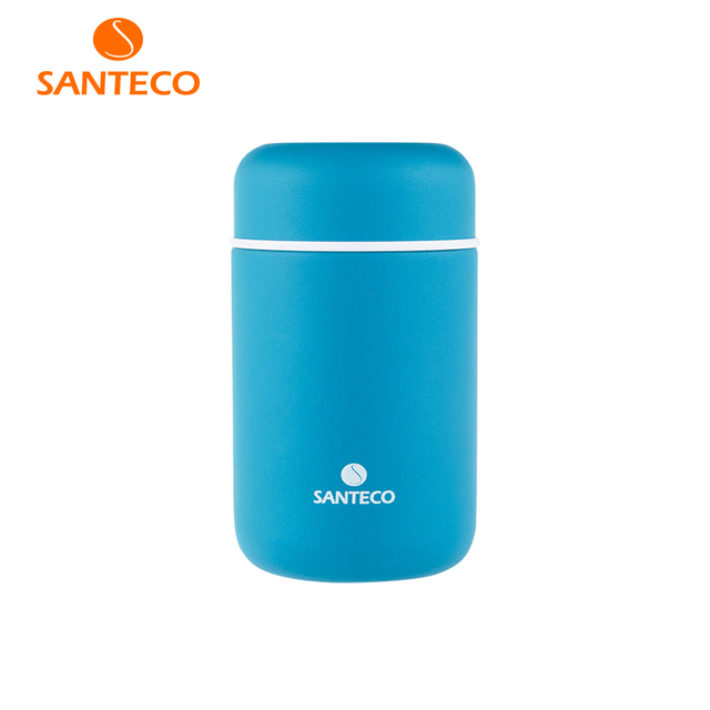Santeco 410ml Thermos For Food Leak Proof Stainless Steel Kids Portable Picnic School Food Container