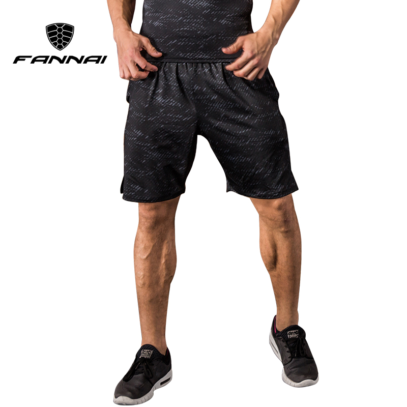 FANNAI Running Tights Men Short Pants Sports Leggings Bodybuilding Gym Shorts Compression Quick Dry Fitness Basketball Soccer