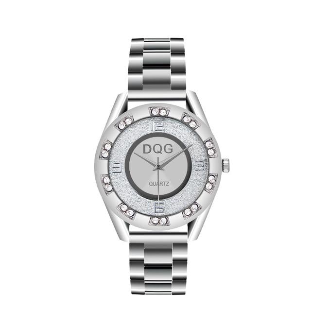 Reloj Mujer Ny Lyx Märke Mode Silver Mesh Bälte Klockor Klockor - Damklockor - Foto 6