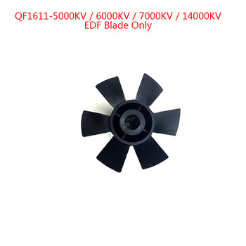 QX-Motor Brand New 6 Blades of 30mm EDF Electric Ducted Fan Without Motor Set Fit For DIY Drone Accessories Parts Wholesale image