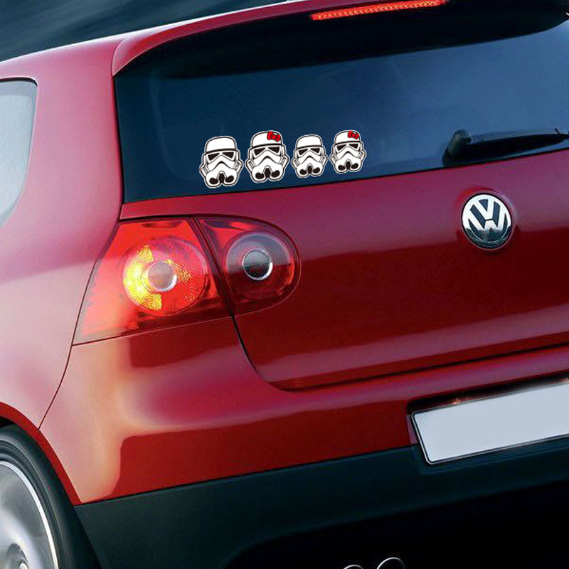 ETIE Car Styling Funny Car Sticker Decal Motorcycle Cool Star Wars - Motorcycle custom stickers and decals uk