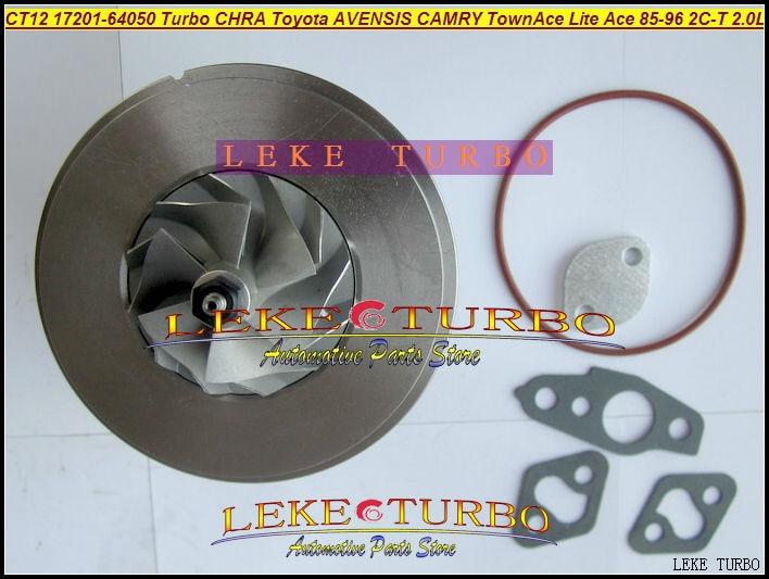 Turbo Kartric Chra Core CT12 17201-64050 17201 64050 17201-64040 TOYOTA AVENSIS CAMRY CARINA TownAce LiteAce 2CT 2C-T 2.0L üçün