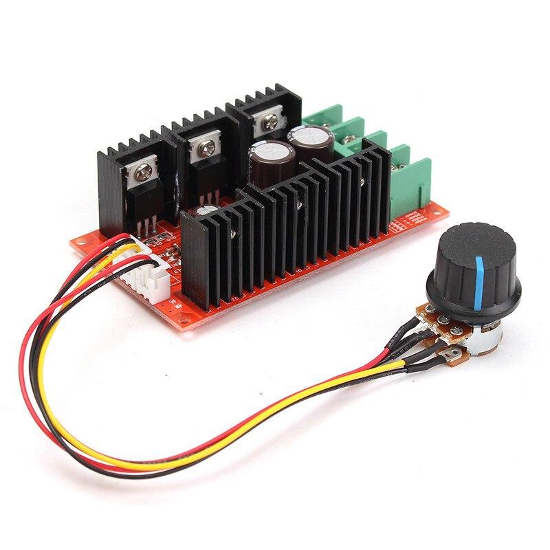 9-50V 40A DC Motor Speed Control PWM RC Controller 12V 24V 48V 2000W MAX new motor speed regulator 10 50v dc motor speed controller 40a 12000hz 2000w hho rc pwm regulator control controlador de velocidade