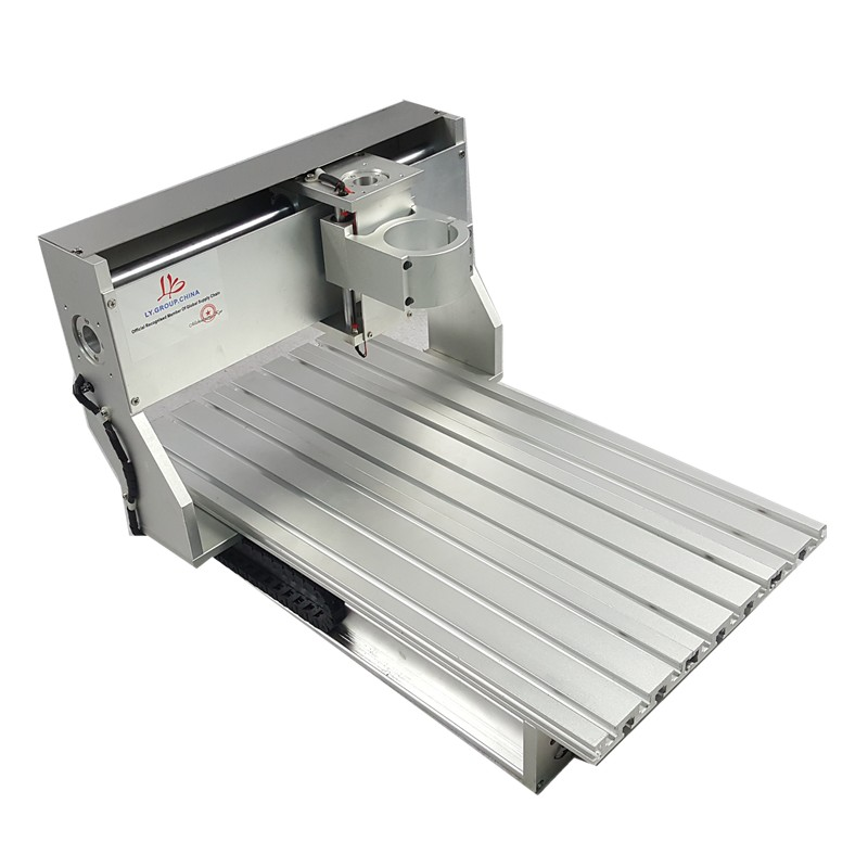 Mini CNC métal machine de découpe cadre 3040 bois routeur avec fin de course et vis à billes adapté bricolage PCB fraisage - 2