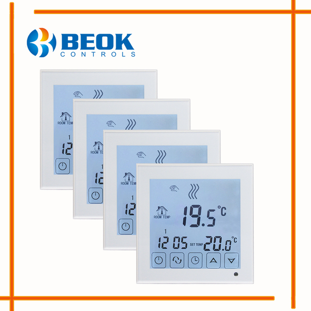 4pcs BOT323 LCD Display 3A Weekly Programmable Room Gas Boiler ...