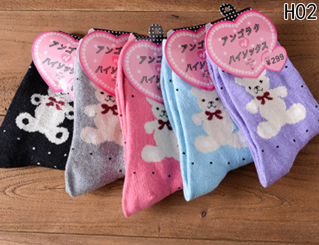 1 pair Cartoon Cat Anime Color Sock Women 2018 Christmas Warm Rabbit Fur Casual Female Ankle Socken Bear Funny Happy Sox Soks in Socks from Women's