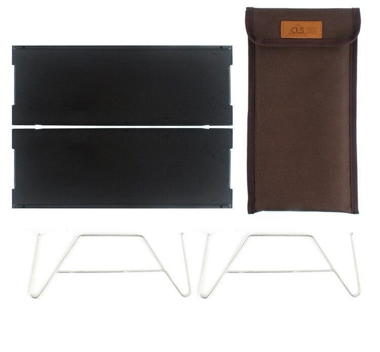 Outdoor Mini Folding Table Single Aluminum Table Portable