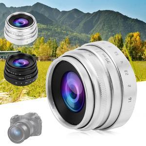 Image 1 - 35mm F1.6 CCTV C góra duża przysłona obiektyw do Sony NEX M4/3 FX adapter obiektywu f/1.6 maksymalna przysłona mikro pojedyncza soczewka