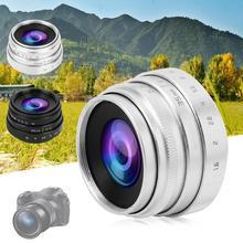 35mm F1.6 CCTV C monture objectif grande ouverture pour Sony NEX M4/3 FX adaptateur dobjectif f/1.6 ouverture maximale micro objectif unique