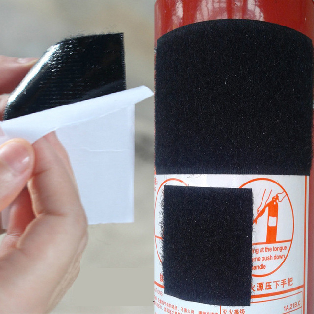 5 Pcs/Set Fire Extinguisher Bandage Fixed Belt Car Styling Car Sticker Belts Car Trunk Storage Bag Magic Tapes Universal