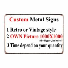 [ Mike Decor ] Custom Metal signs Poster decor for bar home pub 20x30 CM(China)