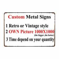 [ Mike Decor ] Custom Metal signs Poster decor for bar home pub 20x30 CM