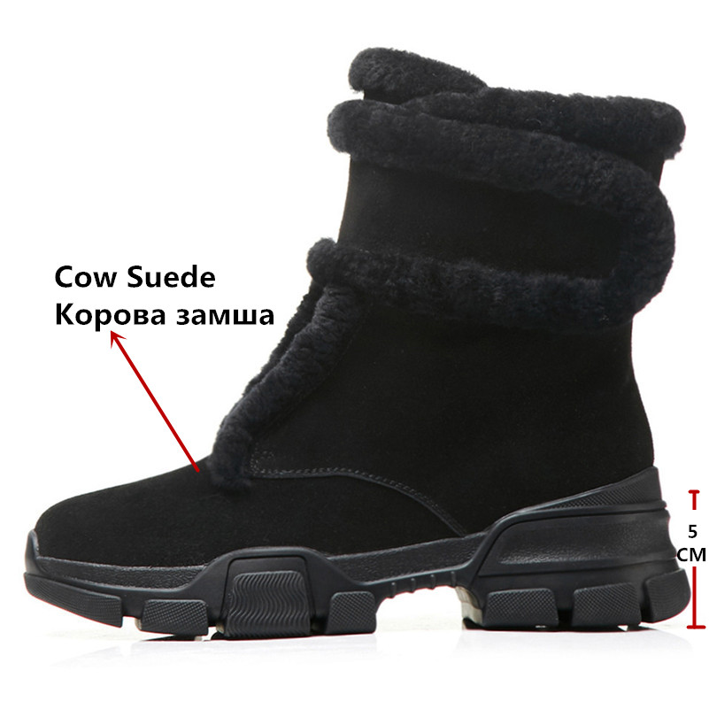Court Fedonas Noir Daim Hauts Martin Femmes Bottines formes Chaussures En Vache D'hiver Femme Marque Chaudes Zipper Pour Basiques Plates Nouvelle Bottes De Talons 0wPkOX8n