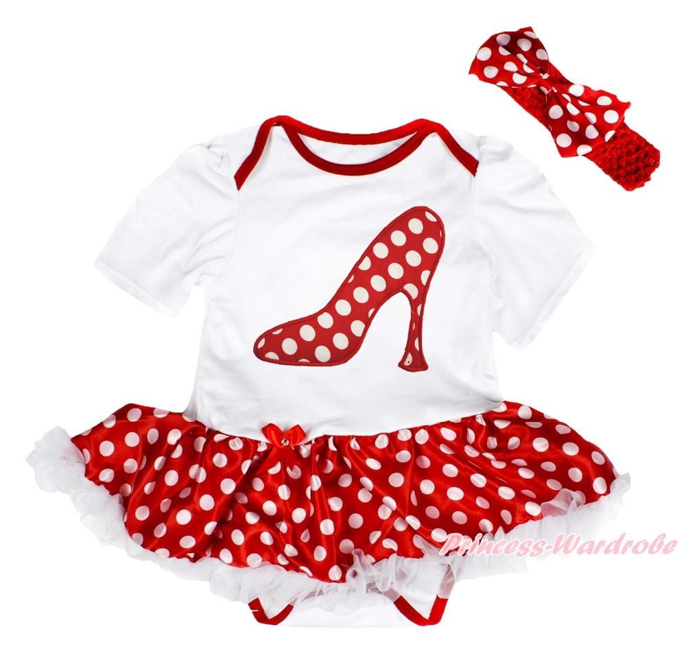 Noël Dot haute talons Slipper blanc body fille Minnie robe de bébé jupe  NB-18M MAJSA0583 6e06359c0b1